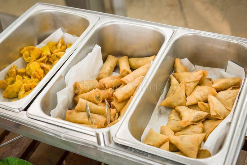 Comida frita deliciosa imagen de archivo