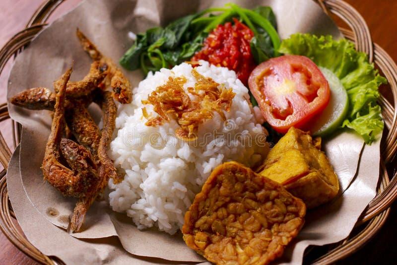 Comida indonesia imagenes de archivo