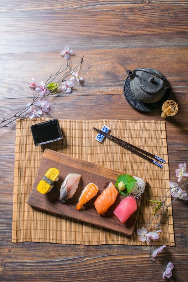 Comida japonesa fotografía de archivo libre de regalías