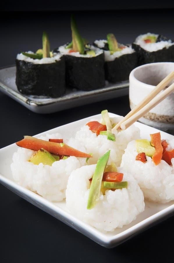 Comida japonesa imagenes de archivo