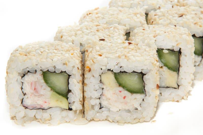 Comida japonesa fotografía de archivo