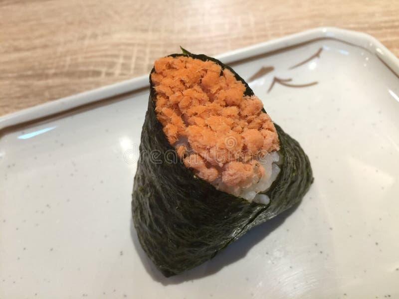 Download Comida japonesa foto de archivo. Imagen de seaweed, contenido - 64201682
