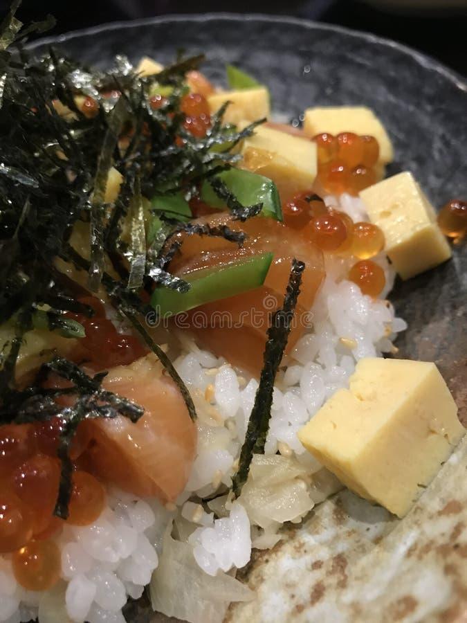 Comida japonesa imagen de archivo libre de regalías