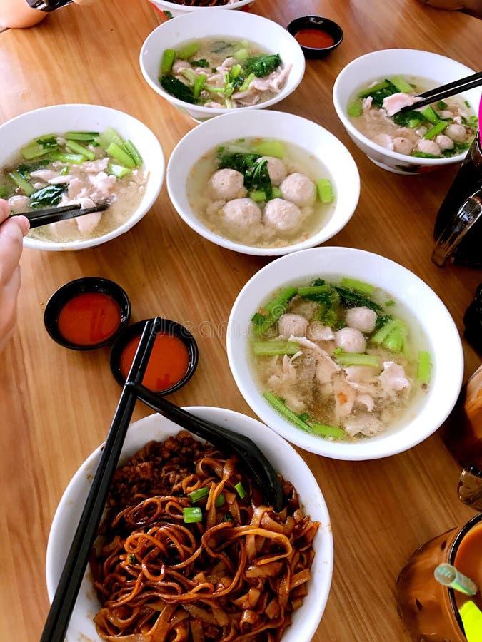 Comida local famosa de Sabah foto de archivo