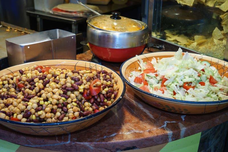 Comida mexicana foto de archivo