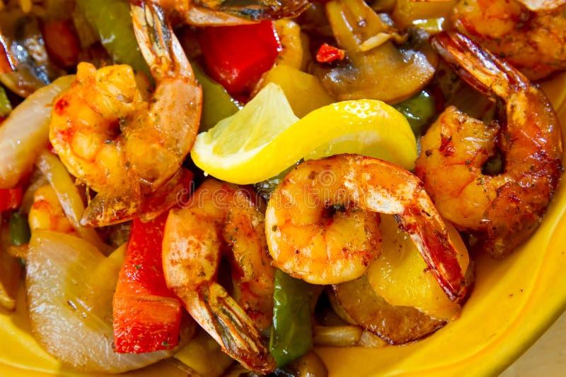Comida mexicana del restaurante imagen de archivo