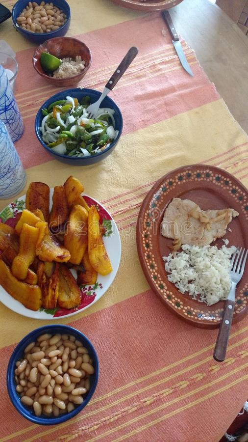 Comida mexicana típica imagenes de archivo