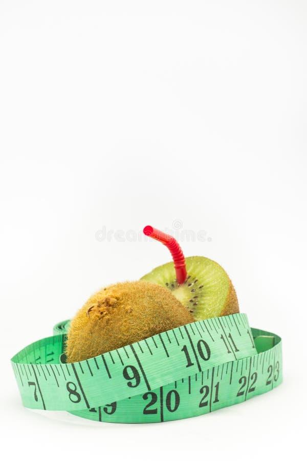 Comida natural de la pérdida de peso de los kiwis imagen de archivo libre de regalías