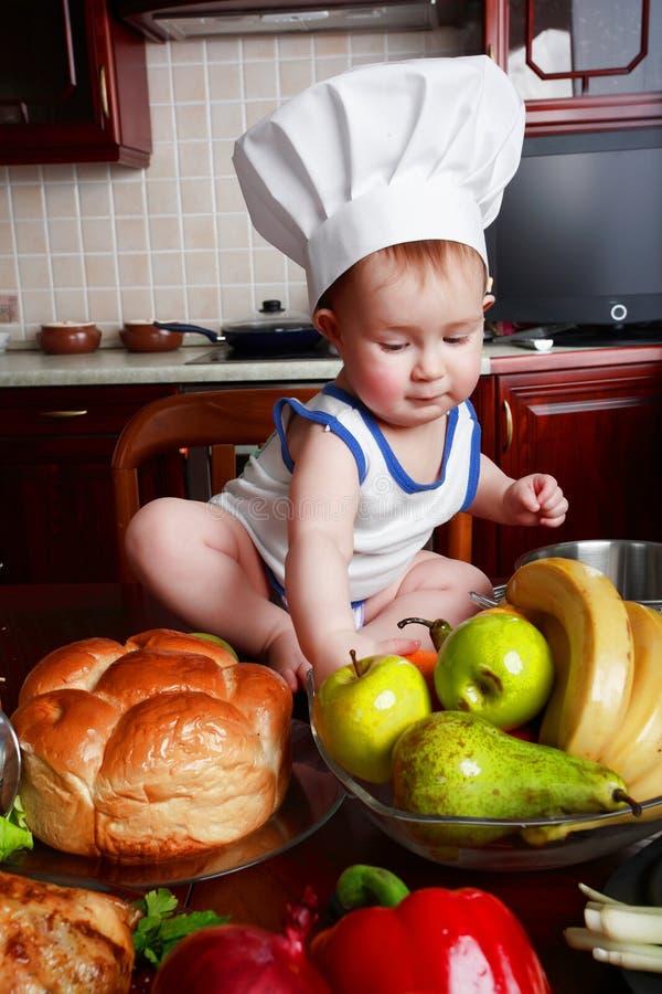 Comida para bebé fotografia de stock royalty free