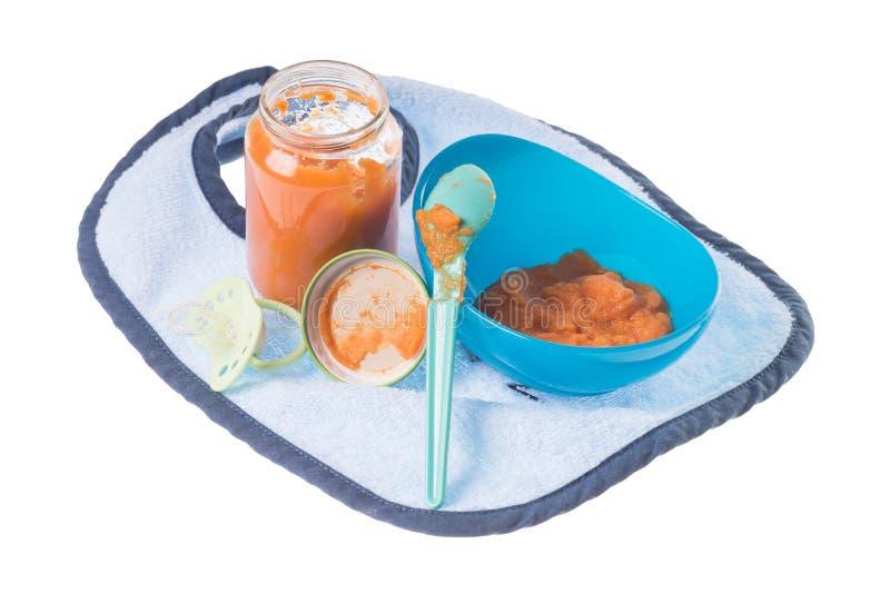 Comida para bebê foto de stock