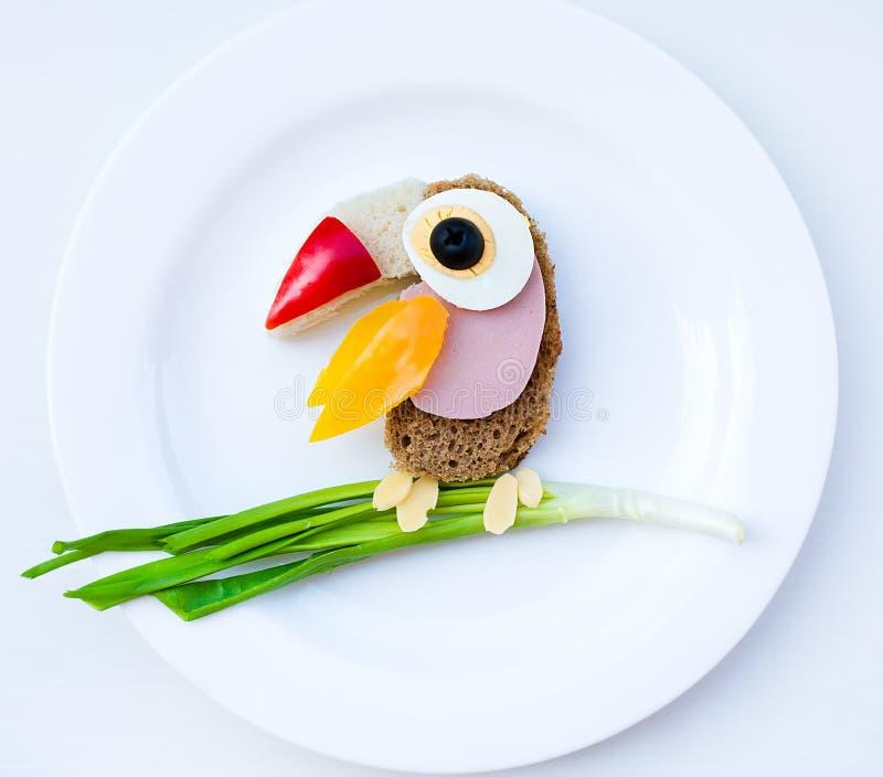 Comida para los niños fotografía de archivo libre de regalías