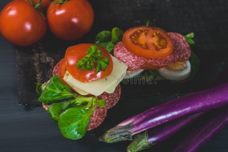 Comida sana, colorida de la estación fotos de archivo