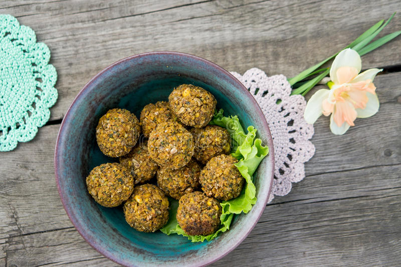 Comida sana de la comida vegetariana deliciosa imagenes de archivo