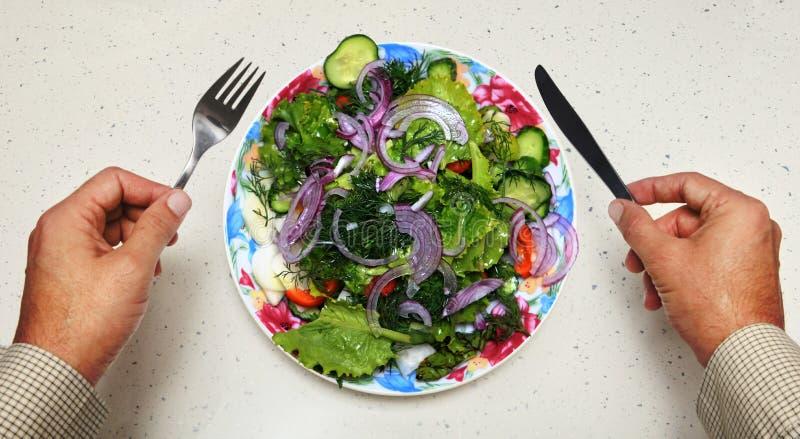 Comida sana para el vegetariano foto de archivo libre de regalías