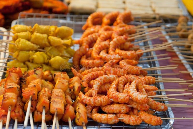 Comida tailandesa tradicional foto de archivo libre de regalías