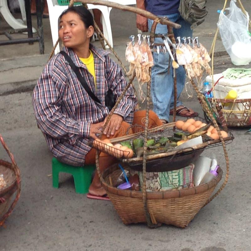 Comida Tailandia Phuket Patong Asia de la calle imágenes de archivo libres de regalías