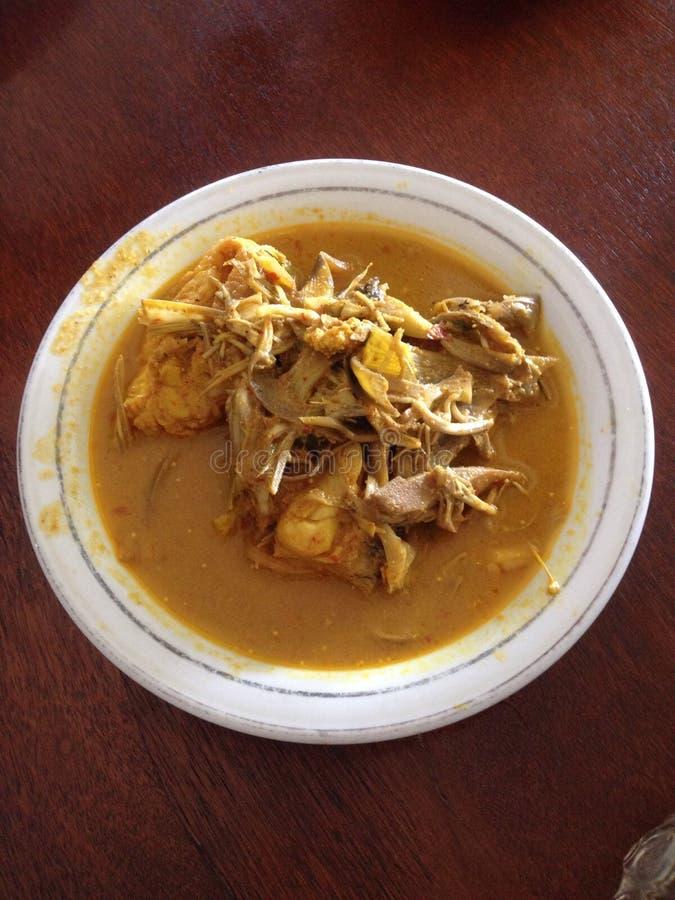 Comida tradicional de Aceh imagenes de archivo