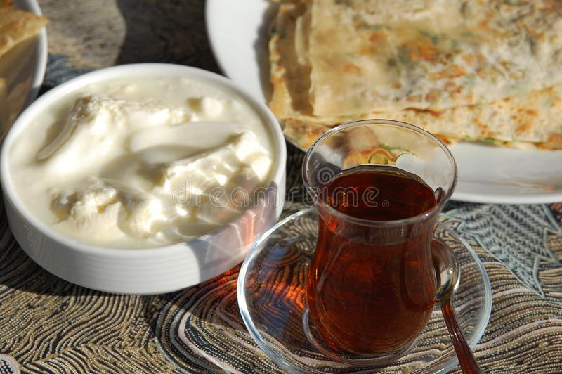 Comida tradicional turca foto de archivo