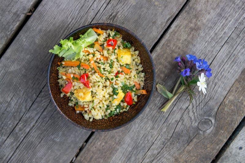 Comida vegetariana fotos de archivo