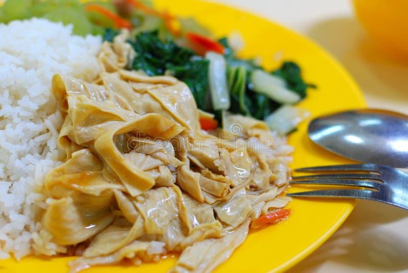 Comida vegetariana simple fotografía de archivo libre de regalías