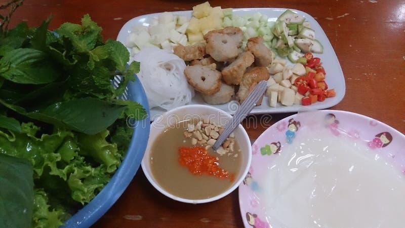 Comida Vietnam imagen de archivo libre de regalías