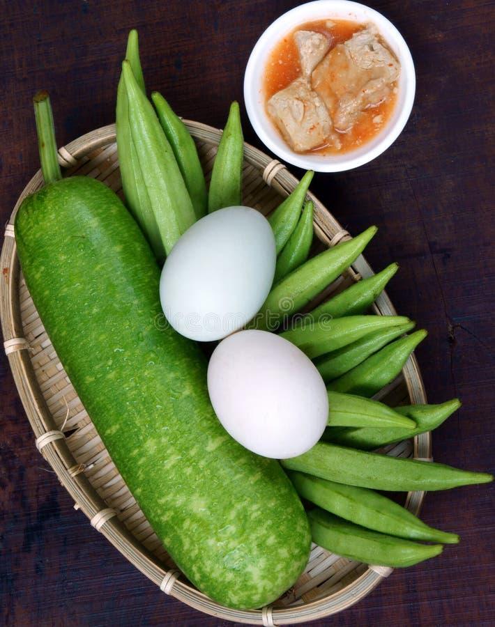 Comida vietnamita, vegetariano, menú de la dieta fotos de archivo libres de regalías