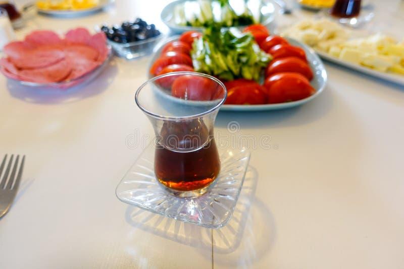Comida y desayuno turcos tradicionales fotografía de archivo libre de regalías