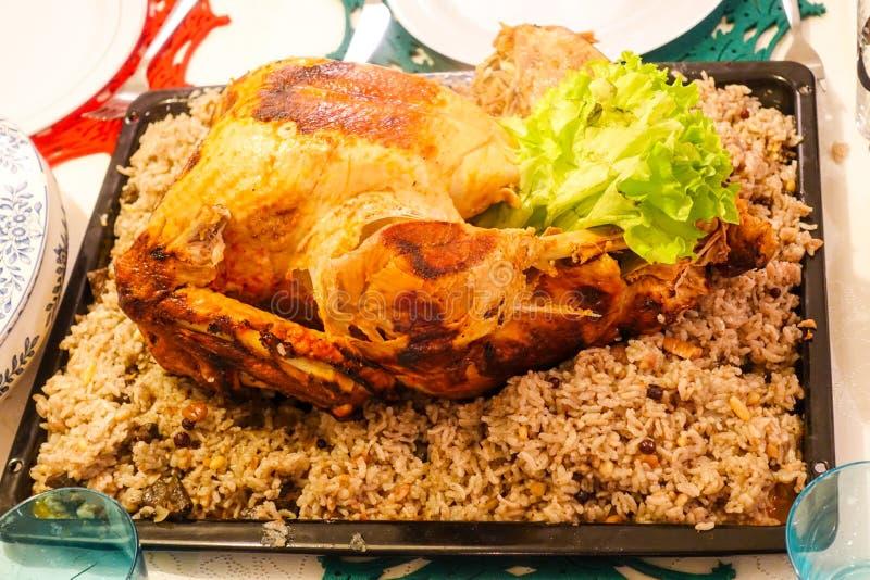 Comida y desayuno turcos tradicionales fotos de archivo