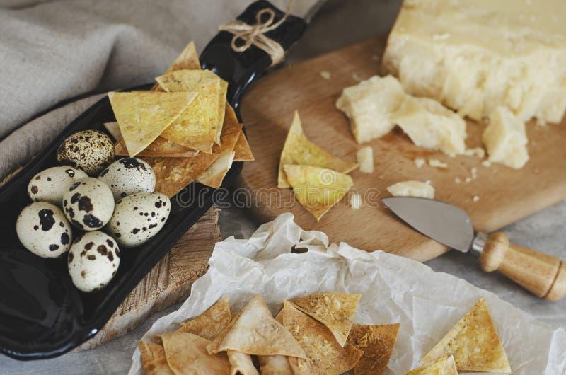 Comida y snaks hechos en casa foto de archivo