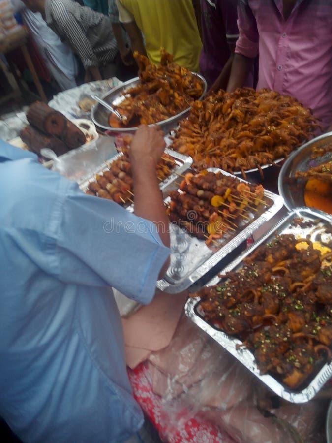 Comidas en el país de Bangladesh foto de archivo