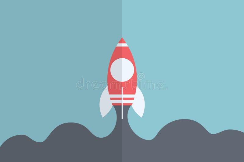 Comience para arriba el diseño stock de ilustración