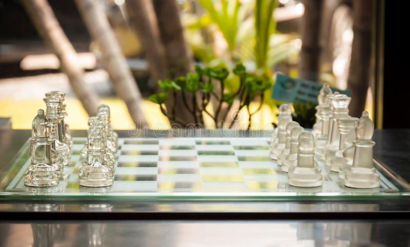 Comience un juego de ajedrez fotos de archivo libres de regalías