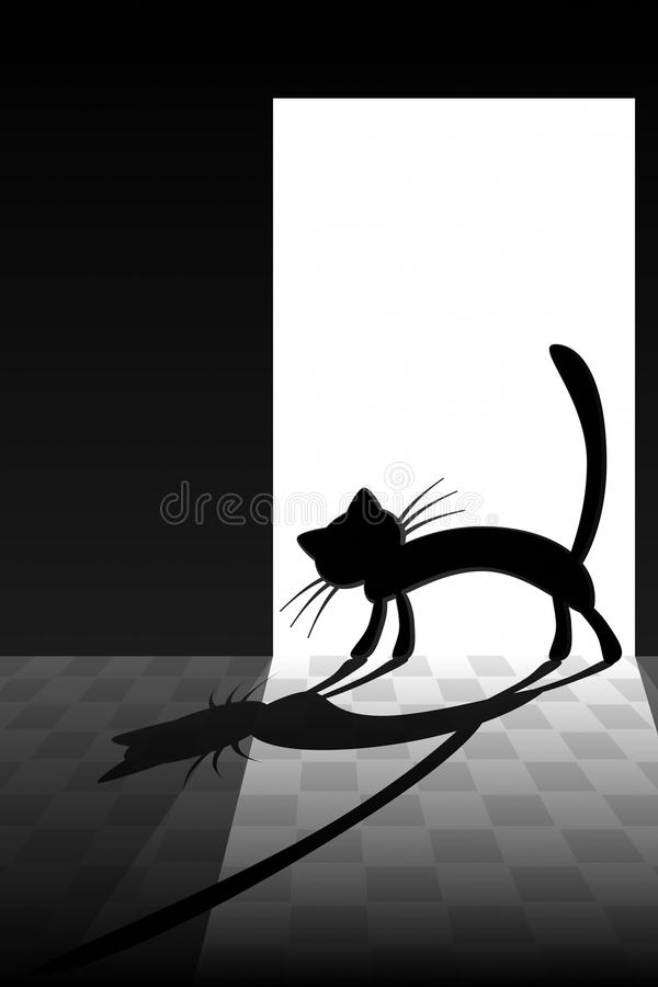 Download The Coming of a Cat stock vector. Image of head, muzzle - 21388683