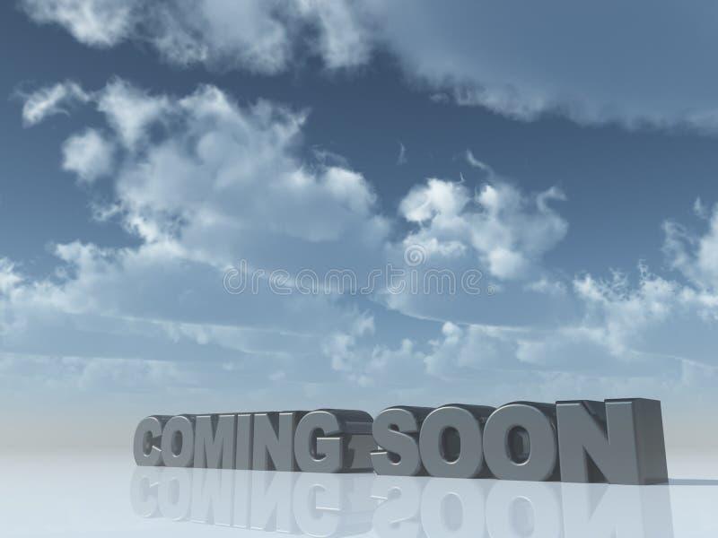 Download Coming soon stock illustration. Illustration of illustration - 9092724