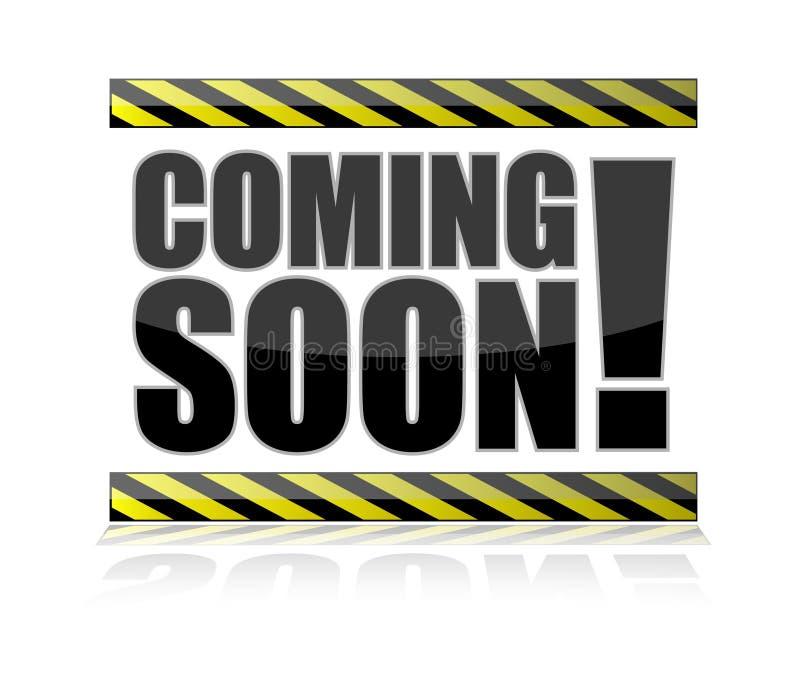 Coming Soon Sign Stock Photos