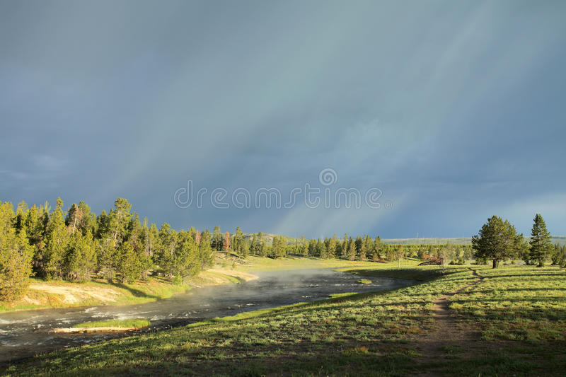 The coming storm royalty free stock image