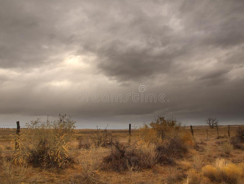 Coming Storm stock image