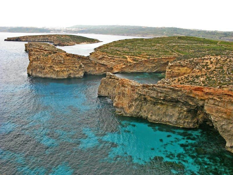 Comino-Insel stockfotos
