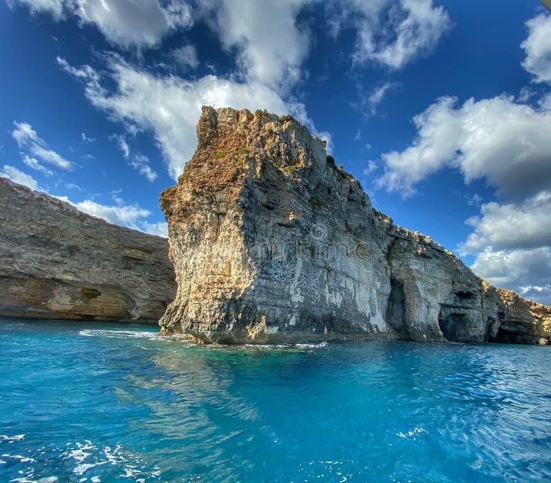 Comino Malta immagini stock libere da diritti