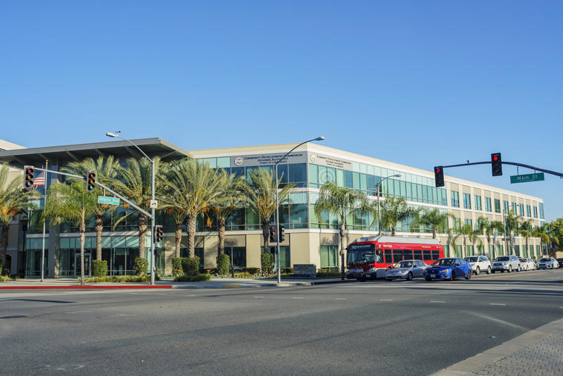 Comisión de desarrollo de comunidad del condado de Los Ángeles imagen de archivo libre de regalías