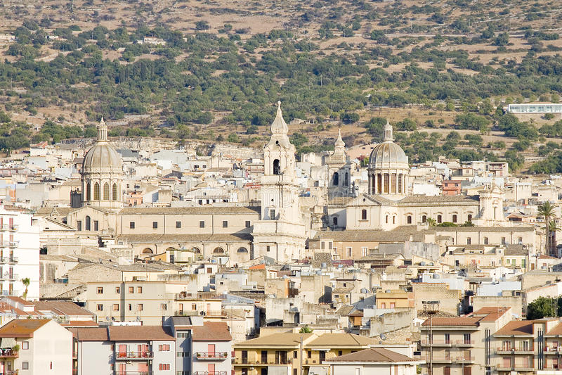 Comiso, Sicília fotografia de stock royalty free