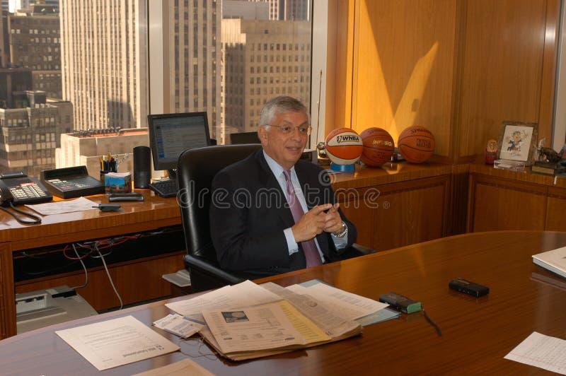 Download Comissário David Stern De NBA Fotografia Editorial - Imagem de david, papéis: 80102207