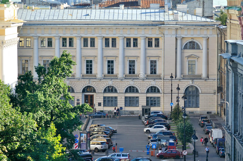 Comité de la vivienda del gobierno de St Petersburg en St Petersburg, Rusia fotos de archivo