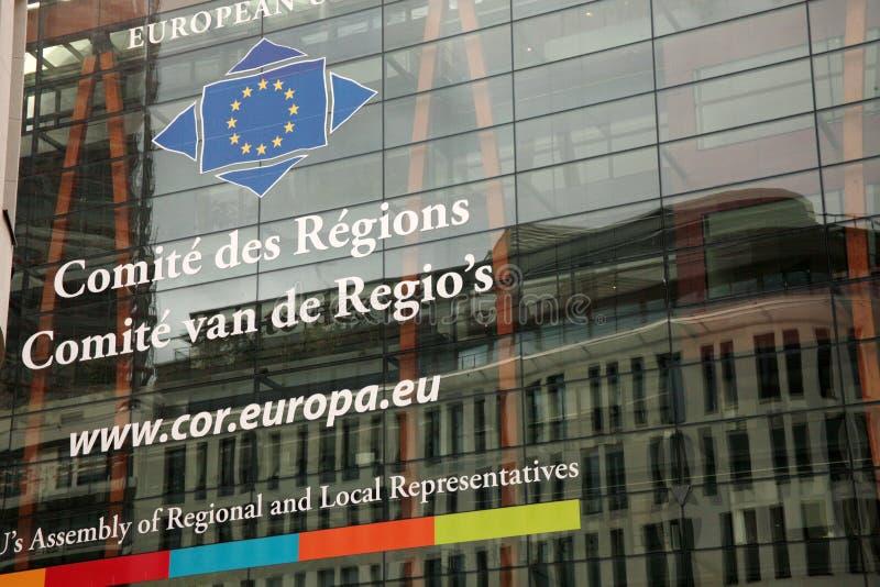 Comité de las regiones imagen de archivo