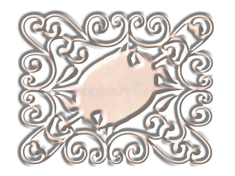 Download Comité Gescrolde Achtergronden Stock Illustratie - Illustratie bestaande uit filigraan, achtergronden: 292354