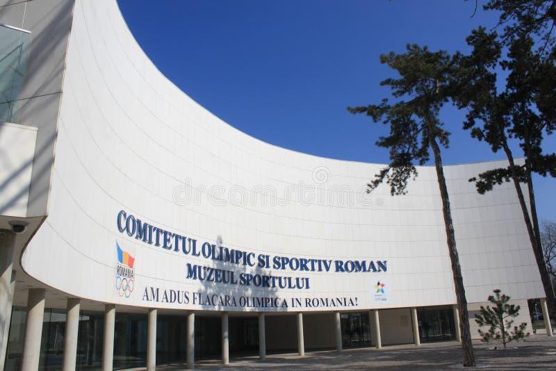 Comitê Olímpico Romeno Imagem Editorial