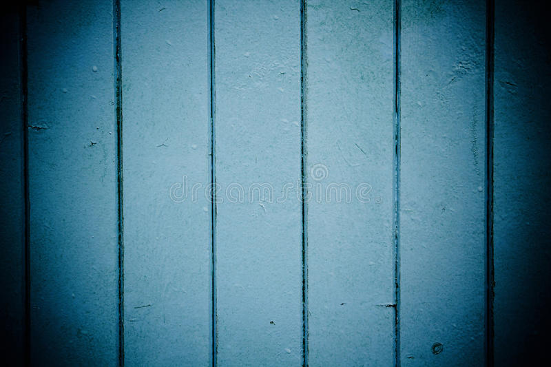 Comitati di legno blu immagini stock