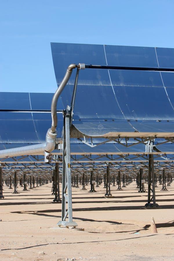 Comitati a energia solare immagini stock
