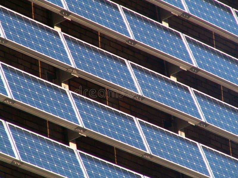 Comitati solari fotografia stock