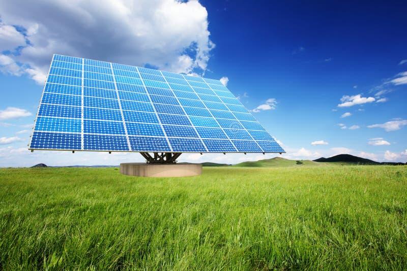 Comitati solari nella natura fotografia stock libera da diritti